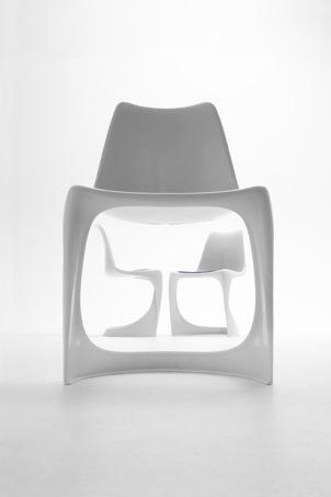 Freischwinger stuhl nielaus 290 von ostergaard im for Stuhl designgeschichte