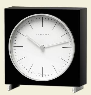 Design Tischuhr tischuhr max bill bill im designlager dülmen
