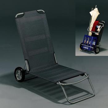 strandstuhl wheely mit 2 r dern von kurtz design im. Black Bedroom Furniture Sets. Home Design Ideas