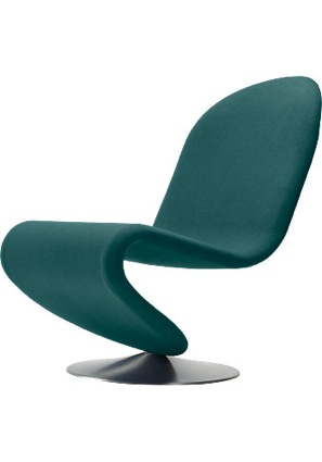 Panton Stuhl System 1-2-3 Chair Low Lounge Standard
