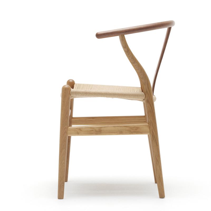 Wood Elevation Model : Carl hansen son wegner stuhl ch y wishbone chair