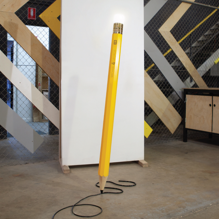 Stehleuchte GIANT DREW THE PENCIL LAMP