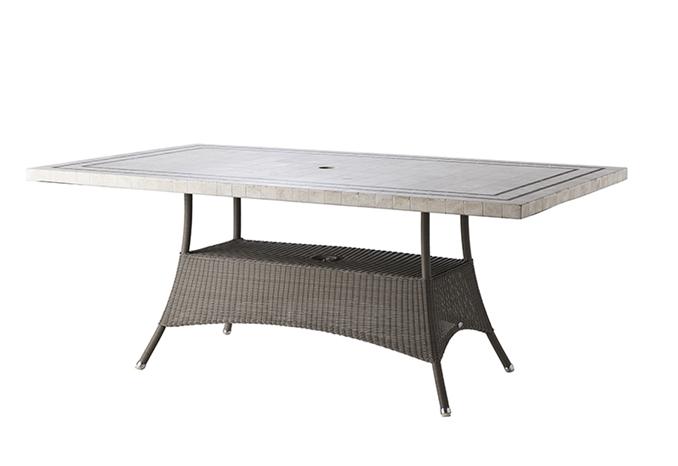 gartentisch lloyd loom lansing gro von werkdesign im designlager d lmen. Black Bedroom Furniture Sets. Home Design Ideas