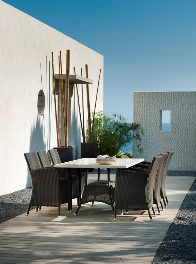 gartentisch lloyd loom lansing gro von werkdesign im. Black Bedroom Furniture Sets. Home Design Ideas