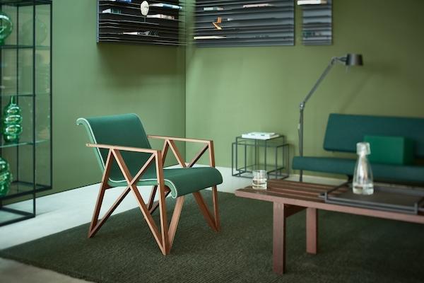rietveld - armchair for metz & co. 1942 von rietveld im designlager