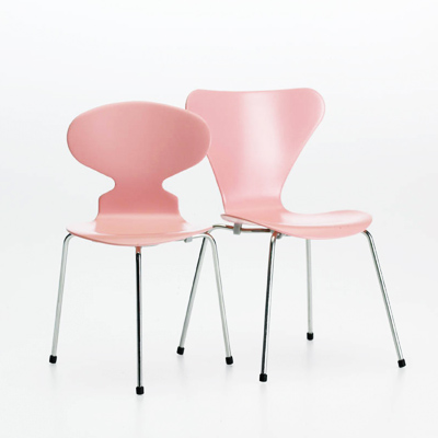 miniatur stuhl 3107 von jacobsen im designlager d lmen. Black Bedroom Furniture Sets. Home Design Ideas