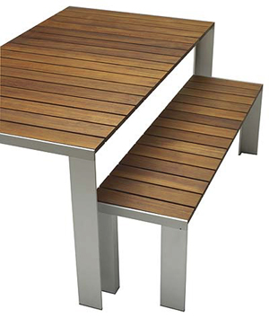 sitzbank deneb outdoor von gasca im designlager d lmen. Black Bedroom Furniture Sets. Home Design Ideas