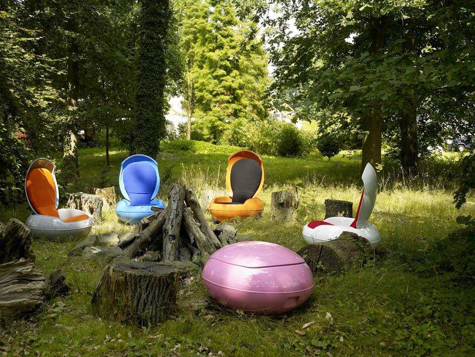 Ghyczy Chair Garden(egg)chair (Senftenberger Ei) Von Ghyczy Im Designlager  Dülmen