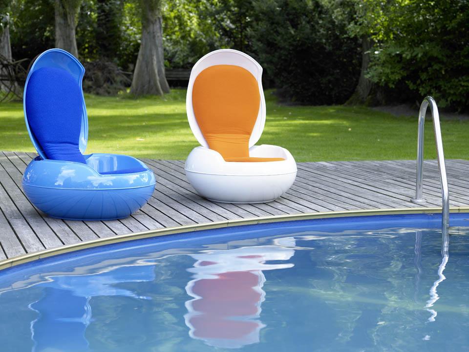 sitzei garden egg chair von ghyczy im designlager d lmen. Black Bedroom Furniture Sets. Home Design Ideas