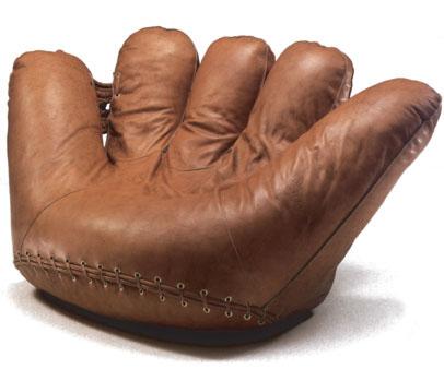 poltronova baseball handschuh sessel joe von de pas d. Black Bedroom Furniture Sets. Home Design Ideas