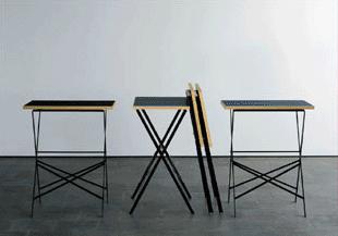 klapptisch lehni von boesiger im designlager d lmen. Black Bedroom Furniture Sets. Home Design Ideas