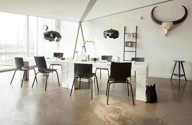 tisch layers table von hutten im designlager d lmen. Black Bedroom Furniture Sets. Home Design Ideas