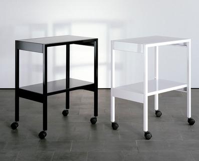 servierwagen lehni von werkdesign im designlager d lmen. Black Bedroom Furniture Sets. Home Design Ideas