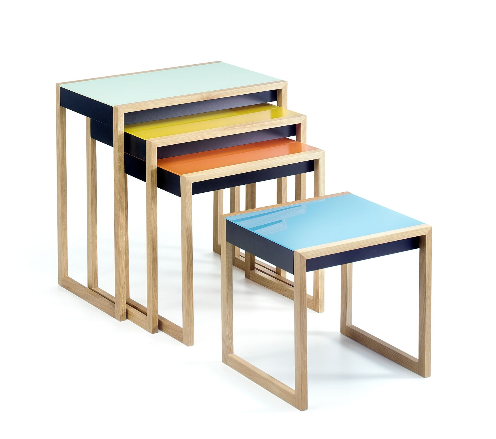 Nesting Table by Josef Albers