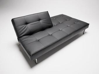Schlafsofa splitback von weiss im designlager d lmen for Sofa bett kombination