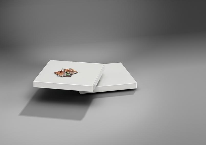 Couchtisch URANUS Dreieck Design von Werkdesign im
